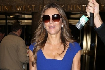 Elizabeth Hurley Celebrities Appear on the 'Today' Show