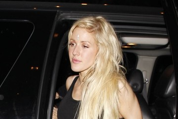 Ellie Goulding Ellie Goulding Returns to Her Hotel