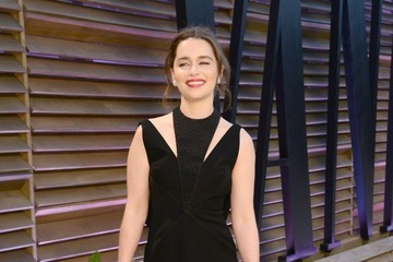 Emilia Clarke The 2014 Vanity Fair Oscar Party