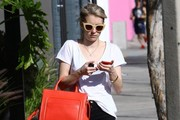 Emma Roberts Shops in West Hollywood