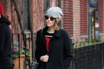Emma Stone Emma Stone and Andrew Garfield Out in NYC