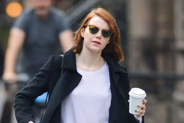 Emma Stone Grabs Coffee in NYC