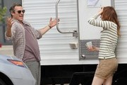 Friday: Joaquin Phoenix and Emma Stone - The Week In Pictures: July 11, 2014