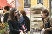 Emmy Rossum Goes Grocery Shopping
