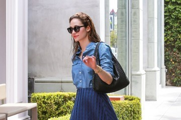 Emmy Rossum Emmy Rossum Shopping in West Hollywood