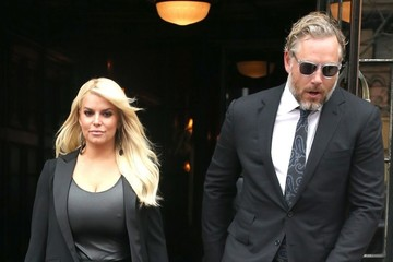 Eric Johnson Jessica Simpson & Eric Johnson Out and About in NYC