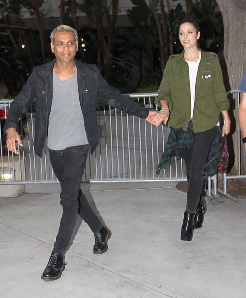 Celebrities Attend the Los Angeles Lakers Game