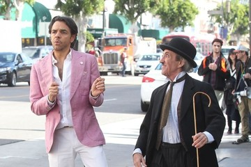 Eugenio Derbez Stars On The Set Of 'How To Be A Latin Lover'