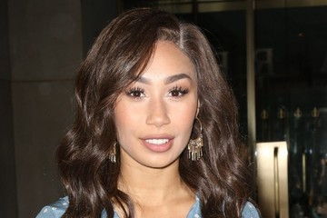 Eva Gutowski Celebrities At 'The Today Show' In NYC