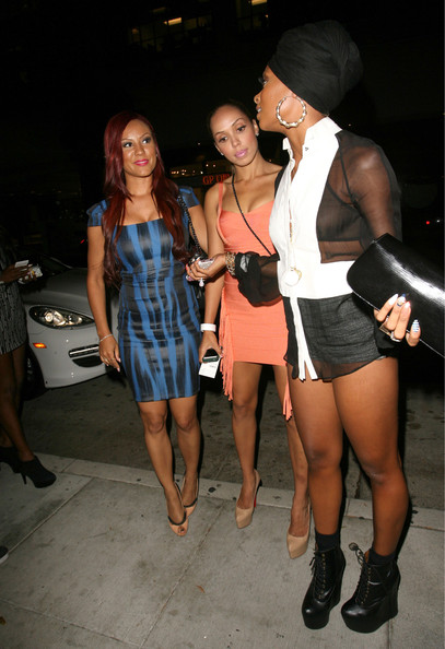Eva Marcille Attends Fno With Her Cheeks Out Atlnightspots
