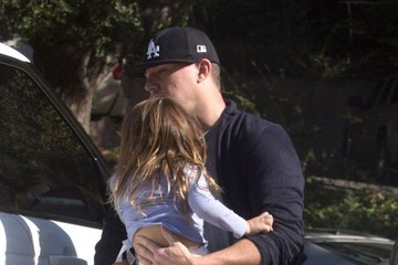 Everly Tatum Channing Tatum & Jenna Dewan At A Thanksgiving Party In Studio City