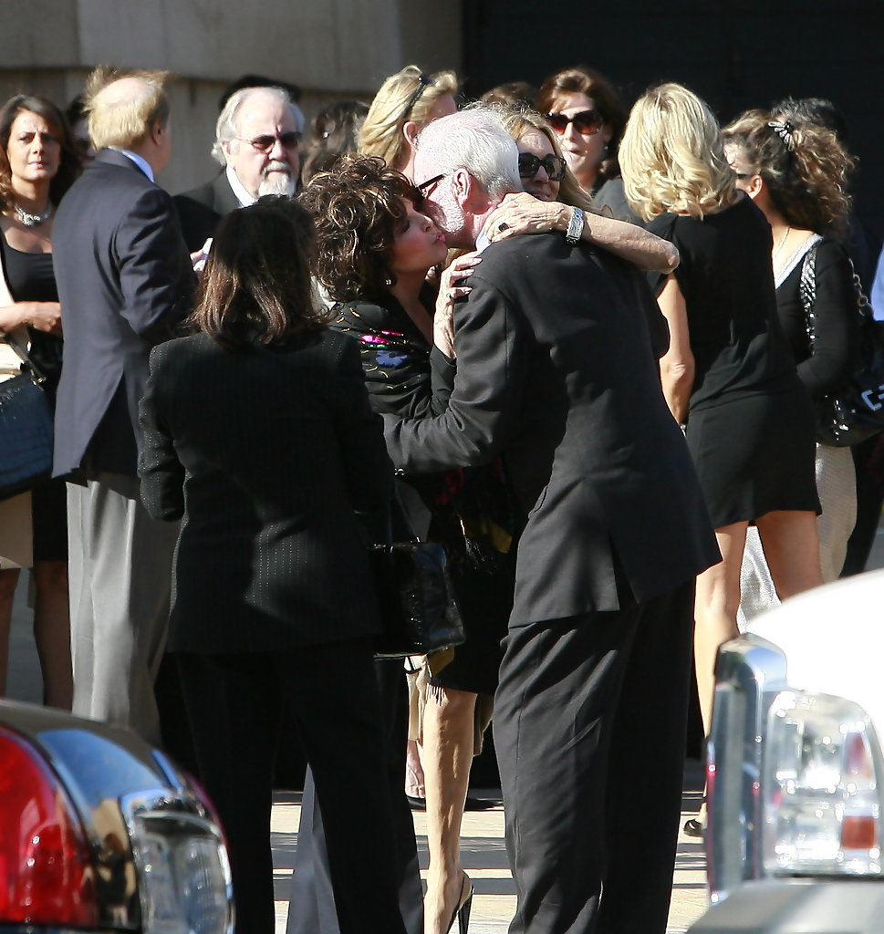 James fawcett photos photos farrah fawcett s funeral 4 zimbio