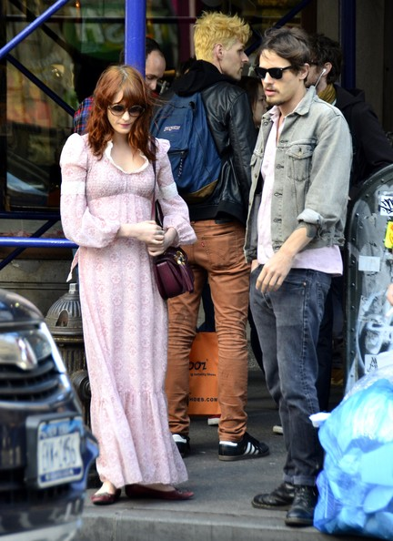 Florence Welch and Bea...