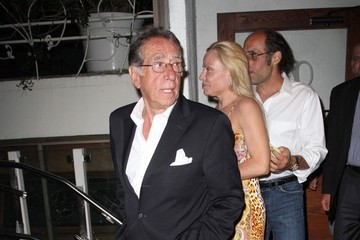 Frank Pellegrino Celebs Dine Out at Madeo Restaurant