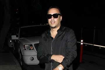 French Montana Celebrities Enjoy a Night out in LA