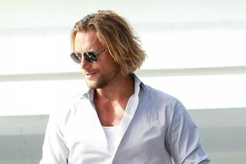 Gabriel Aubry Celebrities Attending Fergie's Baby Shower