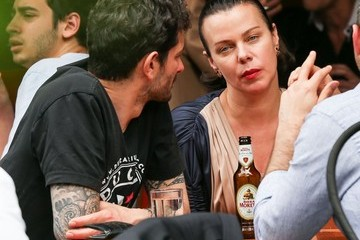 Gabriele Corcos Debi Mazar and Gabriele Corcos Do Lunch