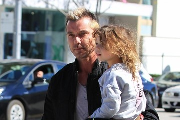 Gavin Rossdale Gavin Rossdale Goes Out With His Son in Beverly Hills
