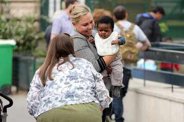 Gerda Theron Grandma Theron Bonds With Baby Jackson
