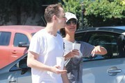 'Ted 2' actor Giovanni Ribisi and his new girlfriend spotted out for breakfast in Los Feliz, California on July 12, 2015. The pair could be seen holding hands as they left the restaurant. Giovanni divorced his wife of 3 years Agyness Deyn earlier this year.