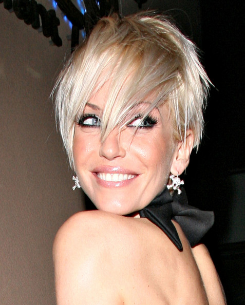 short haircuts for girls with bangs. Celebrity Very Short Haircuts