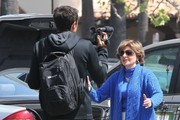 Gloria Allred Stops By A Grocery Store In Malibu