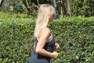 Goldie Hawn Goldie Hawn Out For a Walk in Brentwood