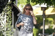 Goldie Hawn Stops For Breakfast in Brentwood