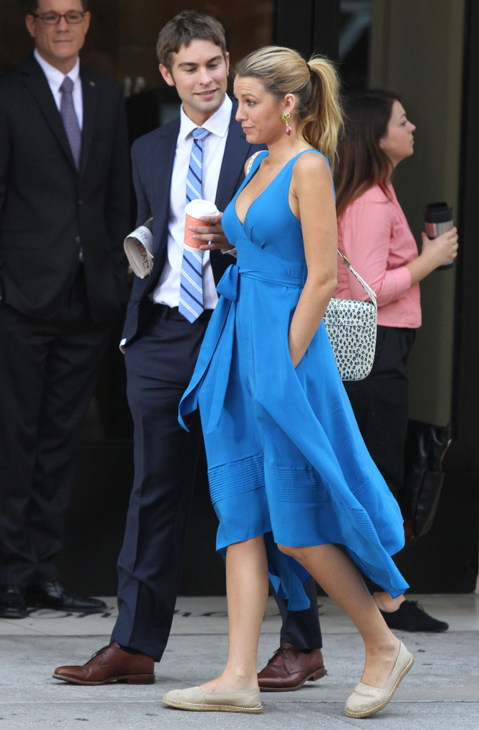 Blake Lively and Chace Crawford Photos Photos - Gossip ...