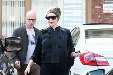 Gwen Stefani Gwen Stefani Visits the Acupuncture Studio