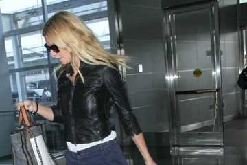 Gwyneth Paltrow Gwyneth Paltrow Spotted at LAX