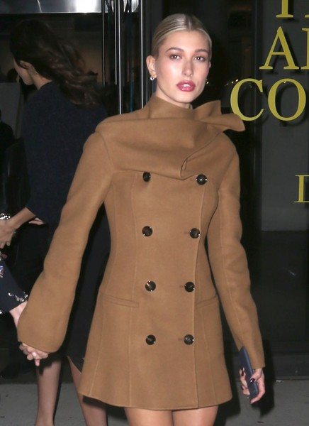 Hailey Baldwin Goes Out in NYC