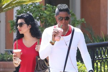 Halima Rashid Jermaine Jackson and His Wife Get Smoothies