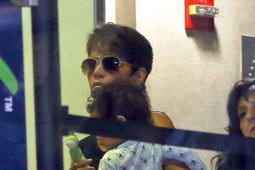 Halle Berry Halle Berry Catches A Flight With Her Baby Boy