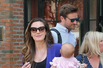 Harper Hammer Armie Hammer and His Family Leave the Bowery Hotel
