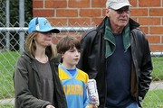 Harrison Ford and Liam Flockhart Photos Photo