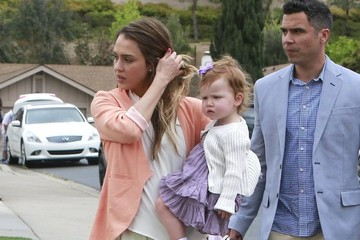 Haven Warren Jessica Alba & Family Spend Easter With Cash's Family