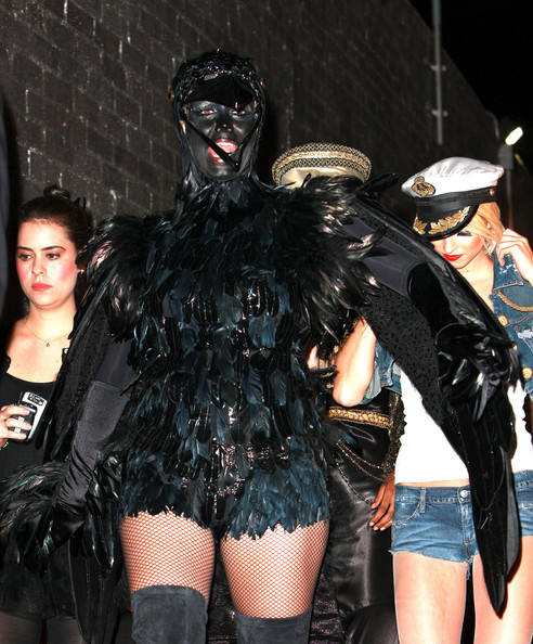Heidi Klum Celebs are seen arriving to Heidi Klum's annual Halloween Party in West Hollywood.