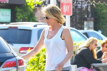 Helen Hunt Helen Hunt Takes the Family Out for Ice Cream