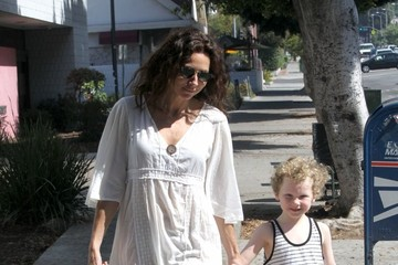 Henry Driver Minnie Driver Takes Henry to Breakfast