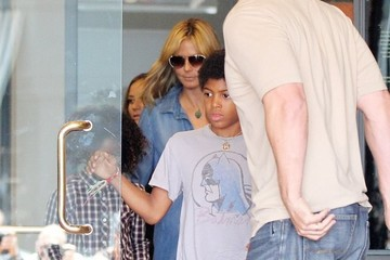 Henry Samuel Heidi Klum Takes Her Kids Out For Lunch