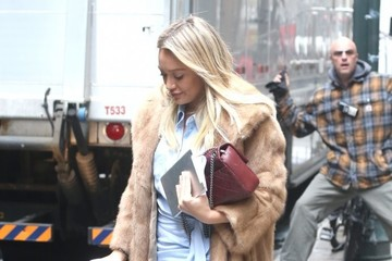 Hilary Duff Hilary Duff Films 'Younger' In NYC