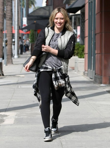 Hilary Duff Is All Smiles in West Hollywood