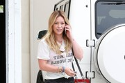 Hilary Duff Hits the Gym in West Hollywood