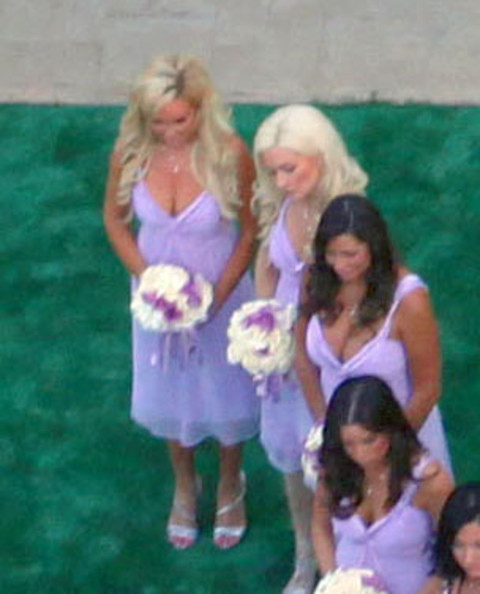 Kendra Wilkinson Wedding At Playboy Mansion