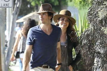 Ian Somerhalder Nikki Reed & Ian Somerhalder Out For Lunch In West Hollywood