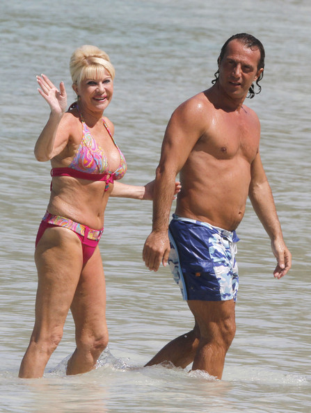Ivana Trump Photos Photos Ivana Trump Shows Off Her Bikini Body