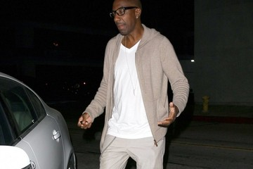 J.B. Smoove JB Smoove Dines Out at Craig's