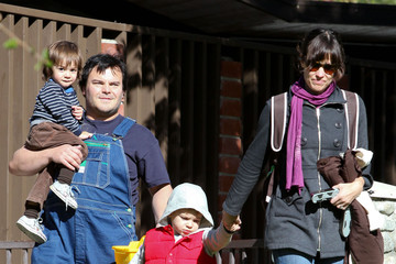 Samuel Black Jack Black And Family Spending The Day At The Park 2