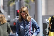 Jaclyn Smith is spotted out shopping in Beverly Hills, California on May 31, 2016.